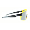 Optic Nerve - FixieMAX Black/Yellow w Silver Flash Mirror