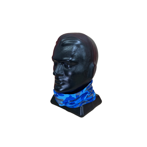 MFH Multi Functional Headwear - Camo Generic Blue