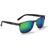 ONE by Optic Nerve Messenger Polarized Half Wire Frame Sunglasses
