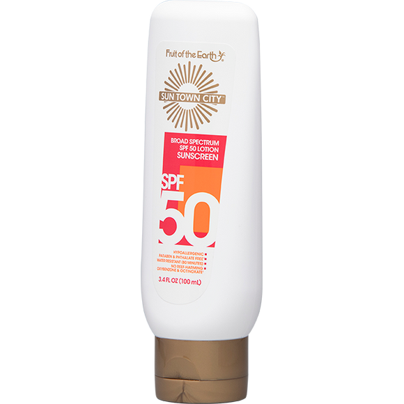 Sun Town City - SPF 50 Lotion