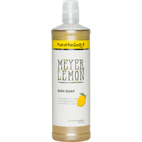 FRUIT OF THE EARTH - MEYER LEMON DISH SOAP