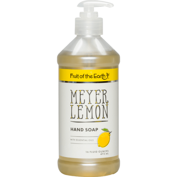 FRUIT OF THE EARTH - MEYER LEMON HAND SOAP