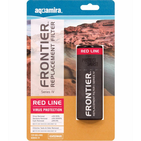 Aquamira® - Frontier™ Series IV Red Line Replacement Filter