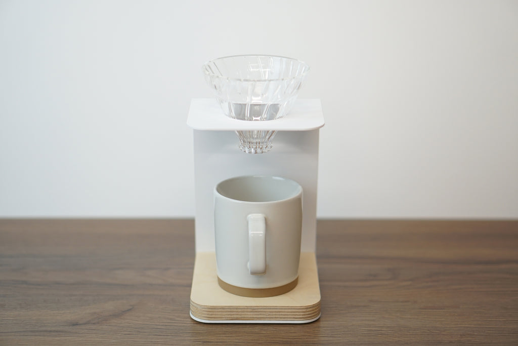 white v60 pour over stand