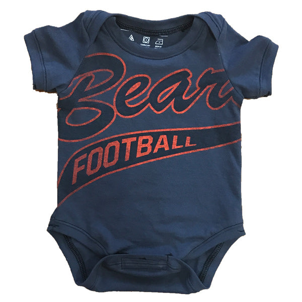 One of a Kind - Chicago Bears Short Sleeve Onesie - 0-3m