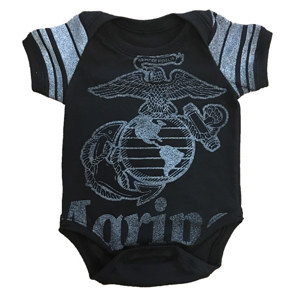 One of a Kind - Marines Short Sleeve Onesie - NB