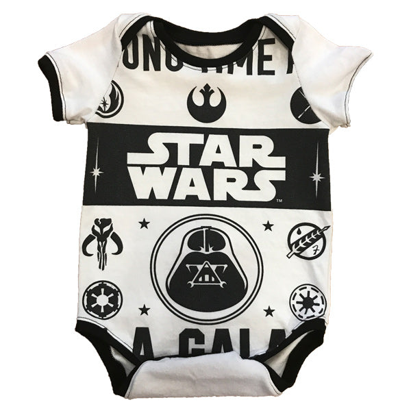 One of a Kind - Star Wars Short Sleeve Onesie - 9-12m