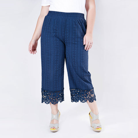 Lace Trimmed Culottes