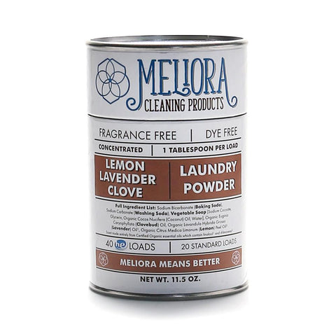 Meliora Laundry Powder, Lemon-Lavender-Clove