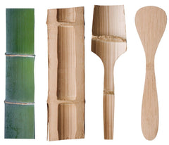 Bamboo 'Give It a Rest' Cooking Spatula