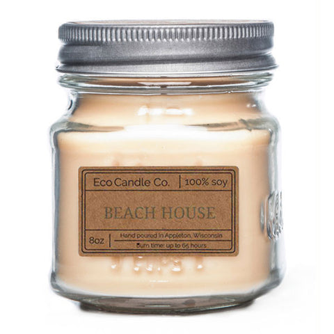 Beach House 8 oz Eco Candle