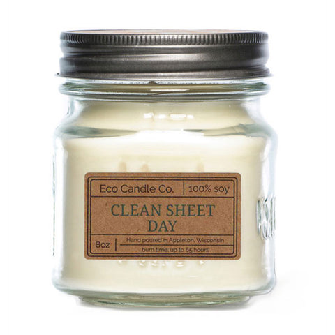 Clean Sheet Day 8 oz Eco Candle