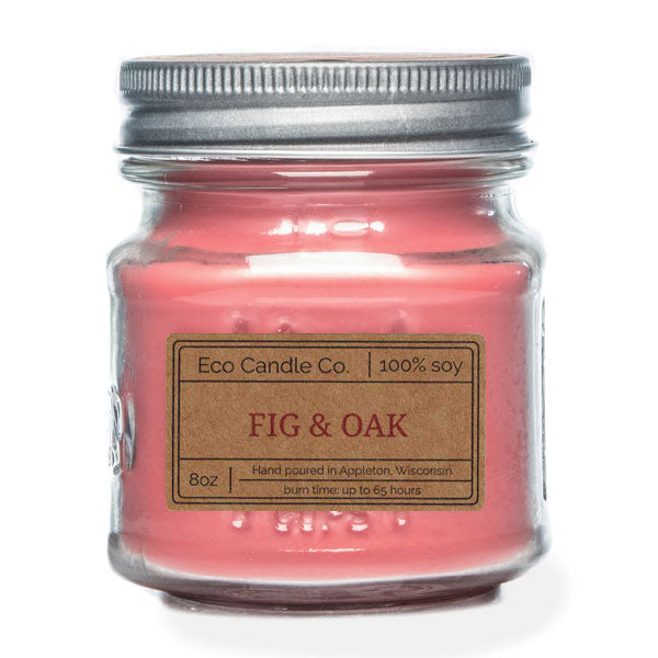 Fig & Oak 8 oz Eco Candle