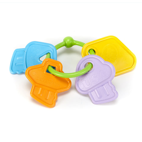 Green Toys First Rattle Keys