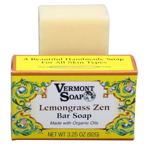 Lemongrass Zen Bar Soap