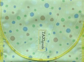 Reusable Organic Snack-Sack (Pale Dots Design)