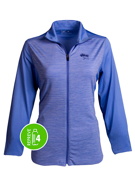 Torrey Pines Women's Full Zip Micro-Fleece Jacket - Merchandise and Services from The Golf Shop at Torrey Pines