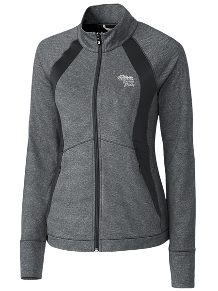 Torrey Pines Women's Shoreline Colorblock Full-Zip - Merchandise and Services from The Golf Shop at Torrey Pines
