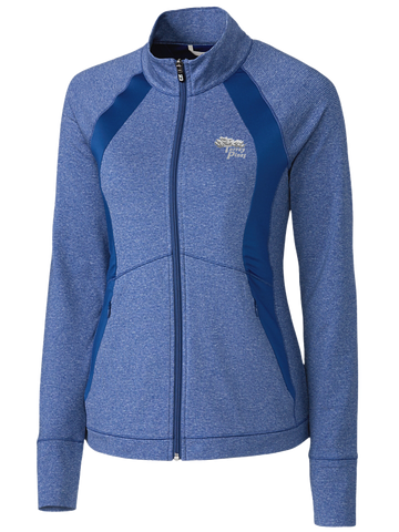 Torrey Pines Ladies' Shoreline Colorblock Full-Zip