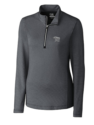 Torrey Pines Ladies'  Long Sleeve Half-Zip Madeline Midweight Layering Mock