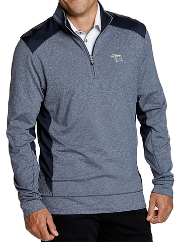 Torrey Pines Men's Shoreline Colorblock Half-Zip - The Golf Shop at Torrey Pines