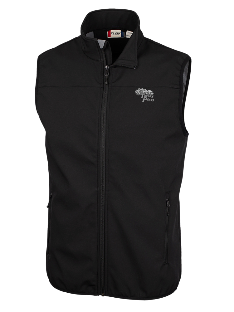 Torrey Pines Trail Softshell Vest - Merchandise and Services from The Golf Shop at Torrey Pines