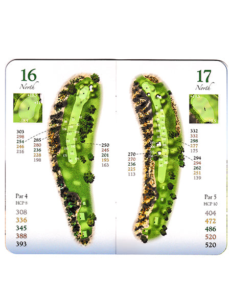 Torrey Pines Full Color Course Yardage Book Set - The Golf Shop at Torrey Pines