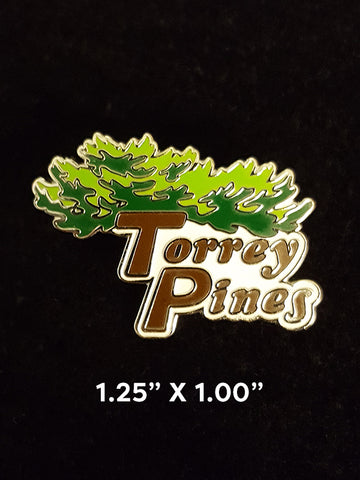 Torrey Pines Collectible Lapel Pin - Merchandise and Services from The Golf Shop at Torrey Pines