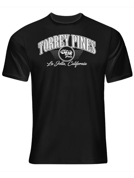 Torrey Pines Short Sleeve Modern Tee Shirt - Merchandise and Services from The Golf Shop at Torrey Pines