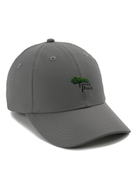 Torrey Pines Adjustable Performance Golf Cap - Merchandise and Services from The Golf Shop at Torrey Pines