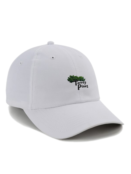 Torrey Pines Adjustable Performance Golf Cap