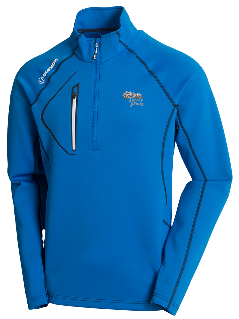 Torrey Pines Men's Allendale SuperliteFX Stretch Thermal Half-Zip Pullover - Merchandise and Services from The Golf Shop at Torrey Pines