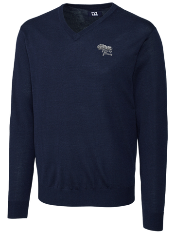 Torrey Pines Men's Douglas V-Neck Sweater - The Golf Shop at Torrey Pines