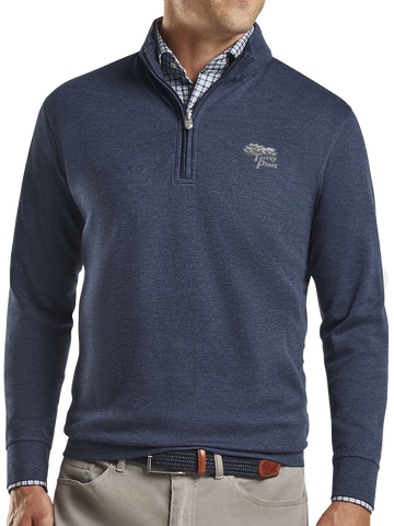 Torrey Pines Men's Crown Comfort Interlock Quarter-Zip - The Golf Shop at Torrey Pines