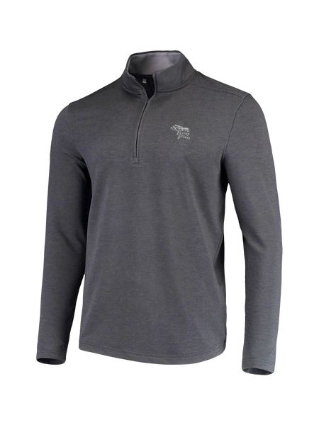 Torrey Pines Drive Mens 1/4 Zip Long Sleeve Fleece Pullover