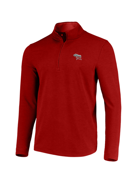 Torrey Pines Drive Mens 1/4 Zip Long Sleeve Fleece Pullover - Merchandise and Services from The Golf Shop at Torrey Pines
