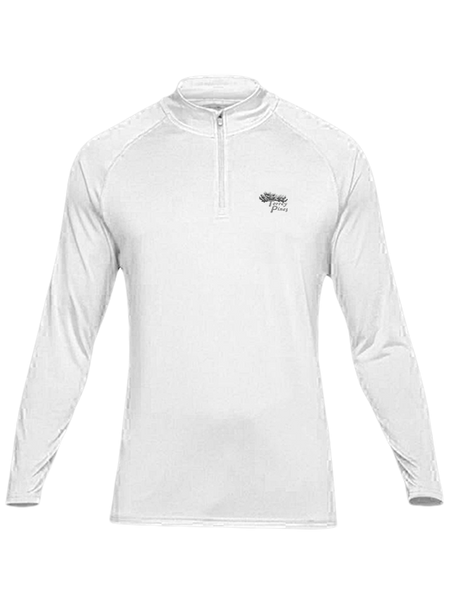 Torrey Pines Mens Long Sleeve 1/4 Zip Pullover by Under Armour