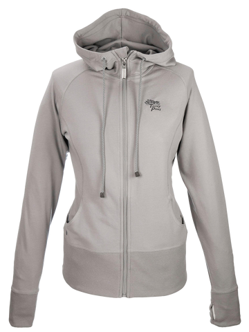 Torrey Pines Women's Full-Zip Long Sleeve Hooded Fleece Sweatshirt - Merchandise and Services from The Golf Shop at Torrey Pines