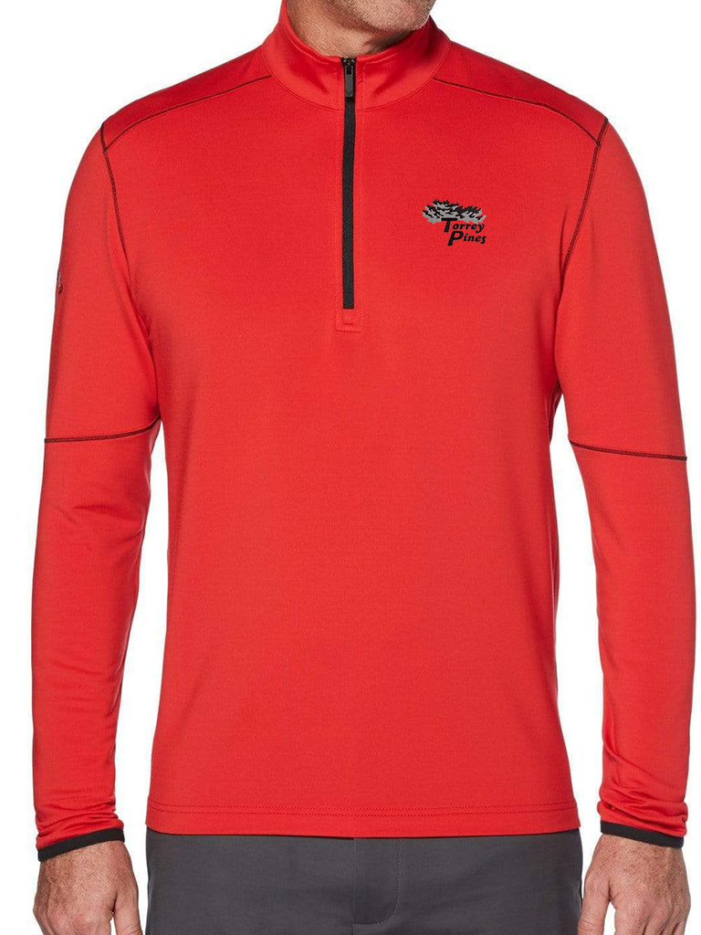 Torrey Pines Mens Outlast Quarter-Zip Pullover - The Golf Shop at Torrey Pines