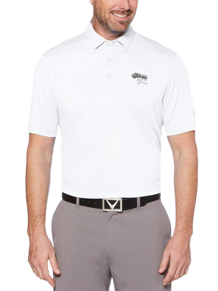 Torrey Pines Mens Cooling Micro Hex Golf Polo - Merchandise and Services from The Golf Shop at Torrey Pines