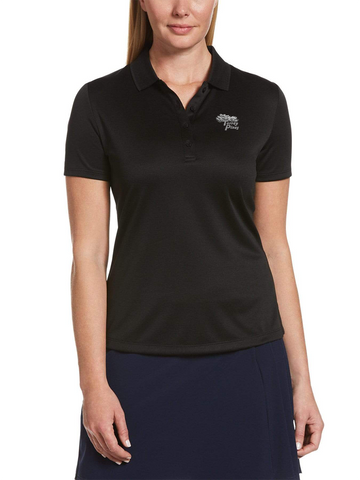 Torrey Pines Women's Swing Tech Solid Polo - The Golf Shop at Torrey Pines