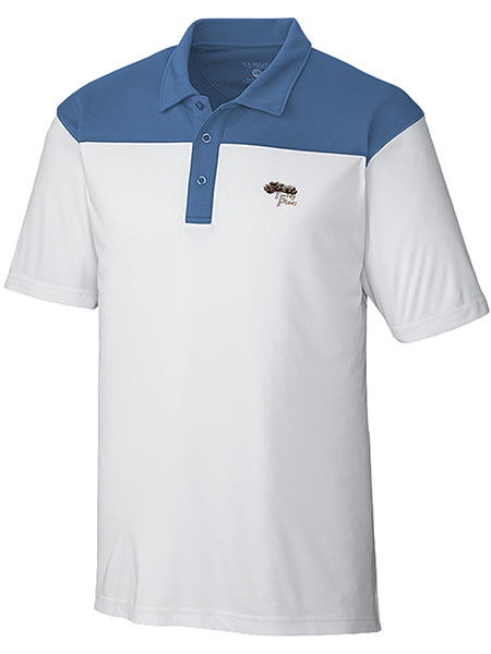 TPMC Color Block Golf Polo - Merchandise and Services from The Golf Shop at Torrey Pines