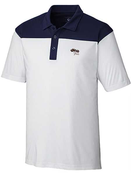 TPMC Color Block Golf Polo