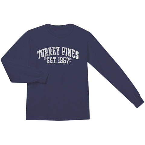 Torrey Pines Long Sleeve Tee Shirt - Merchandise and Services from The Golf Shop at Torrey Pines