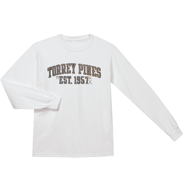 Torrey Pines long sleeve tee shirt