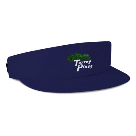 Torrey Pines Tour Visor - Merchandise and Services from The Golf Shop at Torrey Pines