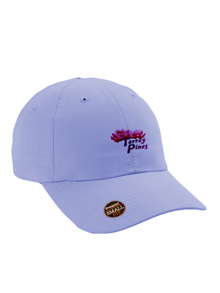 Torrey Pines Small Fit Performance Golf Cap - The Golf Shop at Torrey Pines