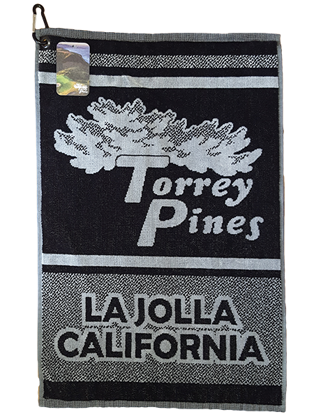 Torrey Pines 16 x 24 Cotton Golf Towel