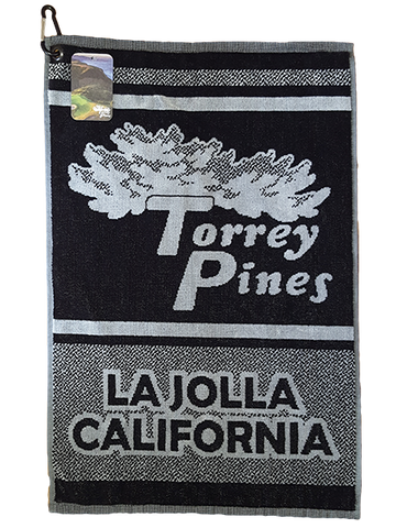 Torrey Pines 16 x 24 Cotton Golf Towel - Merchandise and Services from The Golf Shop at Torrey Pines
