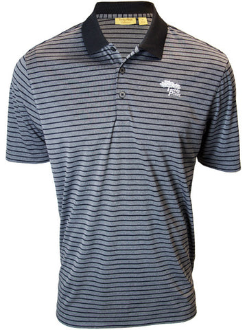 Torrey Pines Private Label Mens Striped Golf Polo - The Golf Shop at Torrey Pines